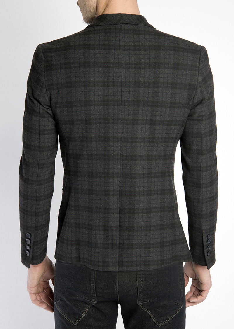 Grant Blazer - Multi Plaid