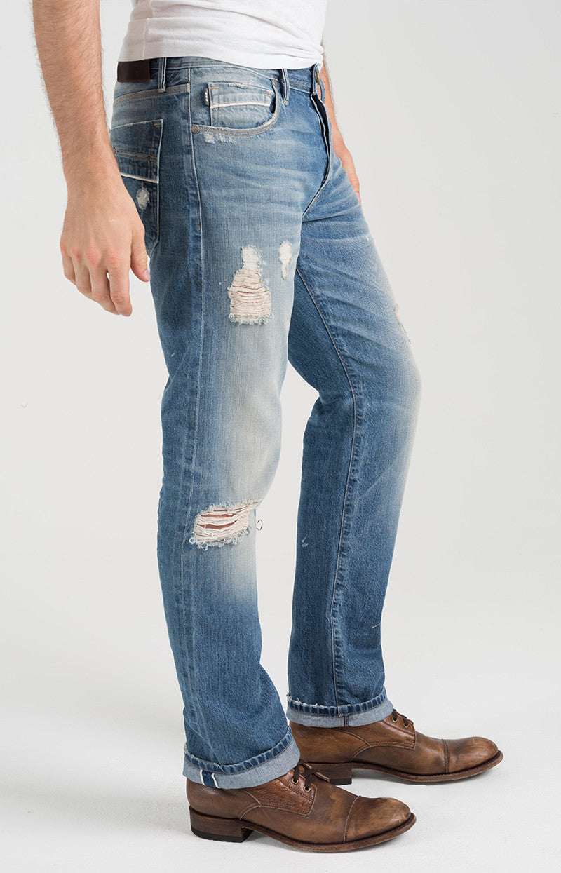 "McQueen Straight ""Selvedge Denim"" - Fantasy Road"