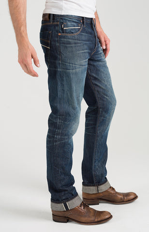 "McQueen Straight ""Selvedge Denim""  - City Lights"