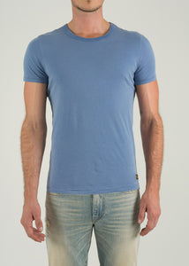 Crew Neck Short Sleeve - Blue