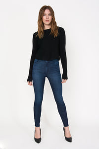 Lollo High Rise Skinny - Honor