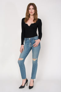 "Jett Cropped 28"" Slim - Fanatic"
