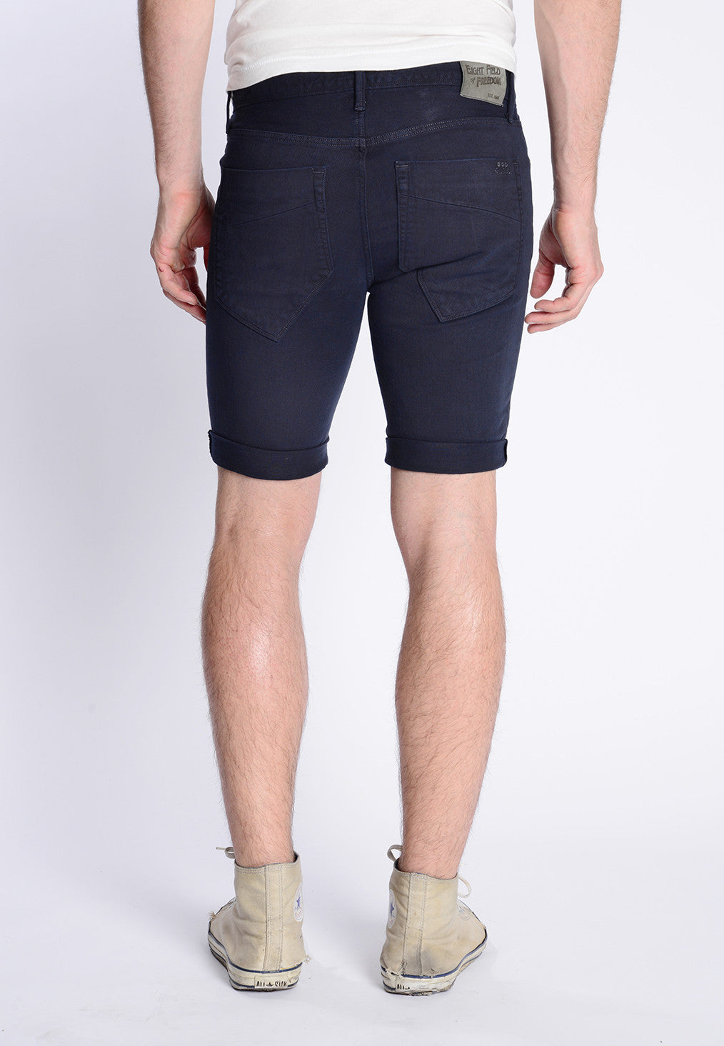 James Roll-Up Shorts - Navy