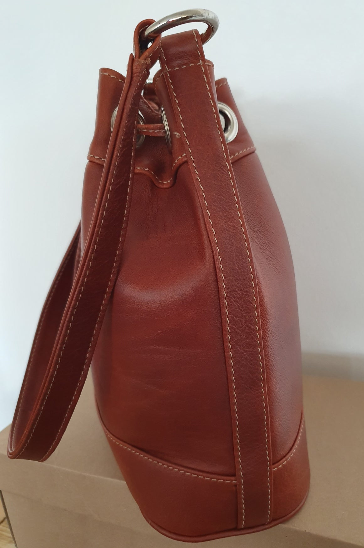 Loris Drawstring Bag (TAN)