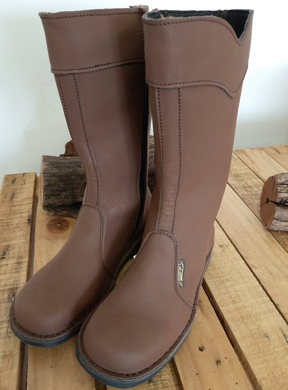 Funky Ladies Boot in Crazy Horse Tan