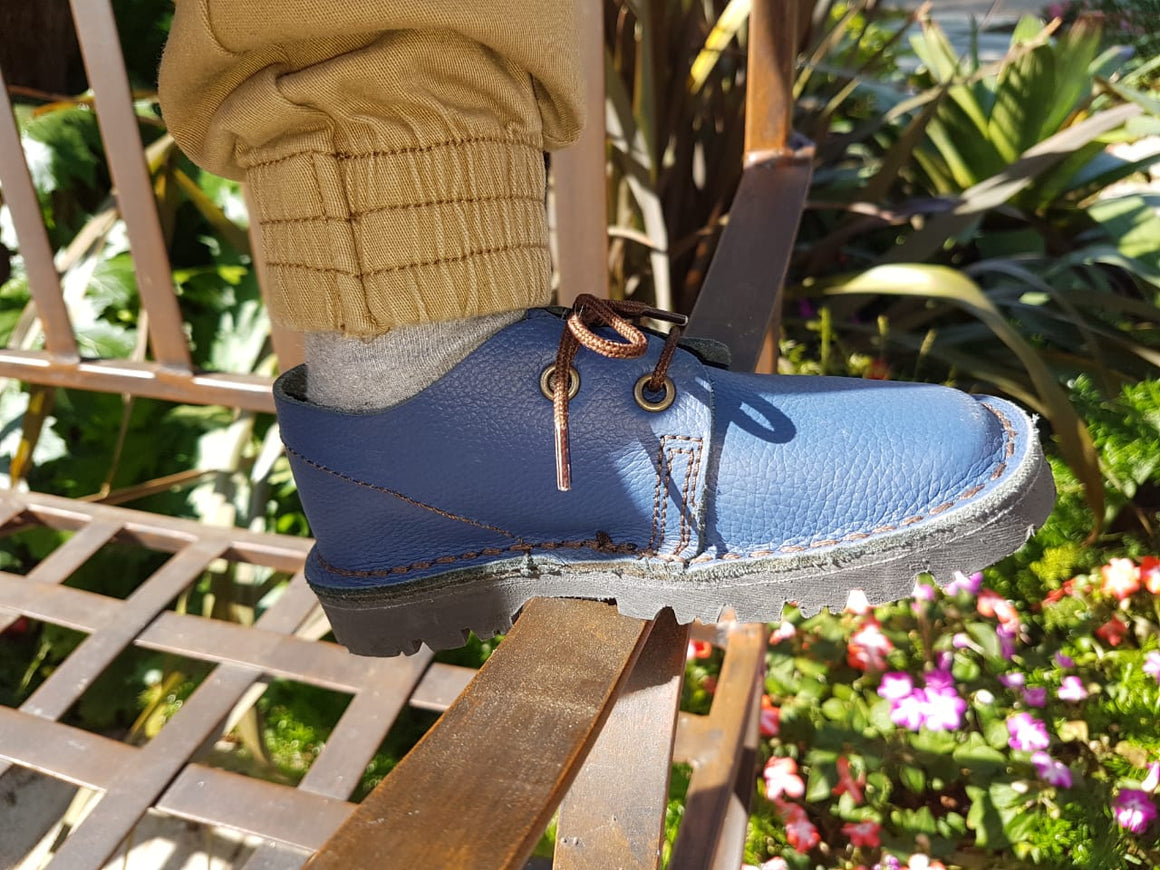 Kids Vellies Blue