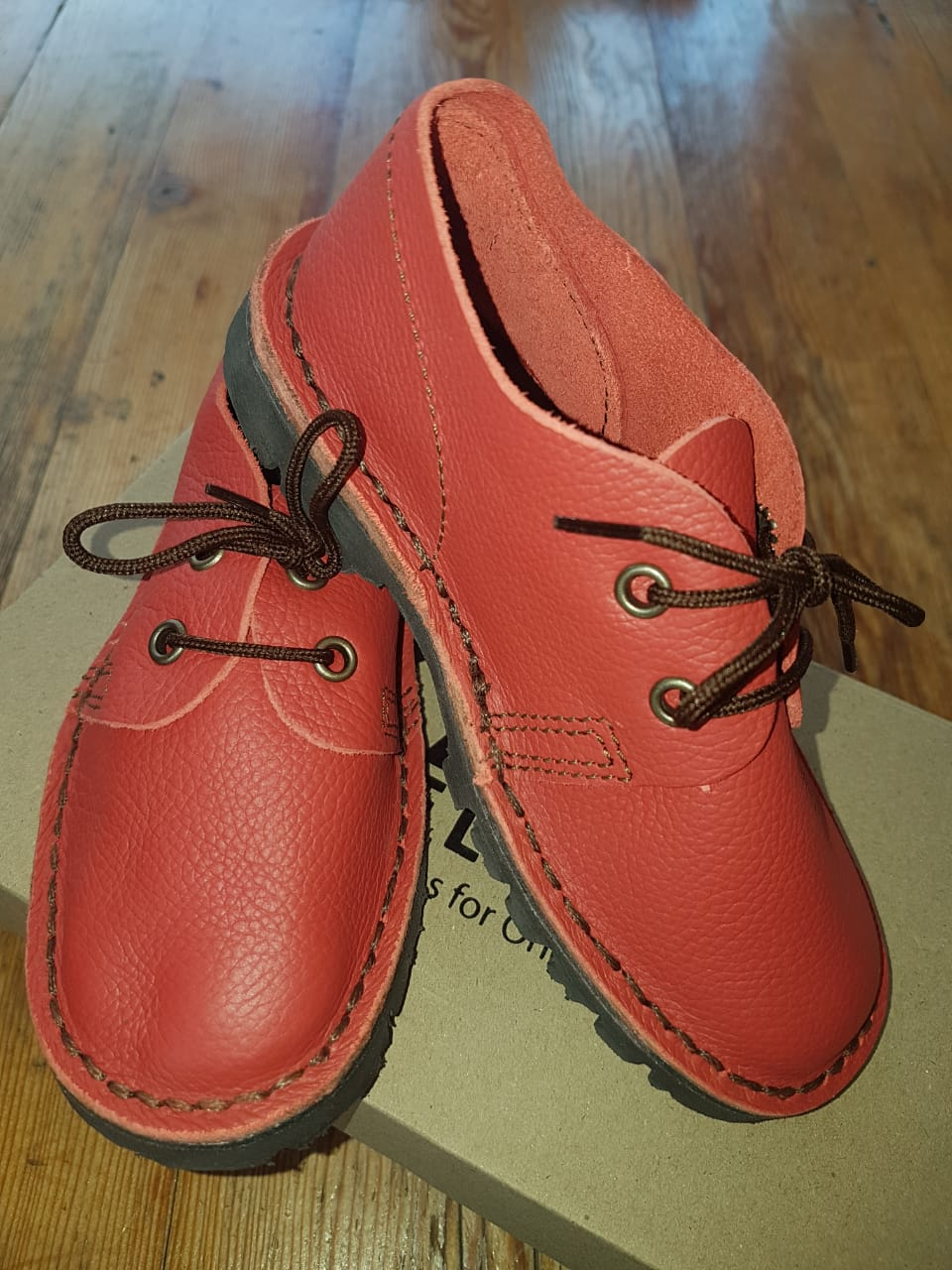 Kids Vellies Red