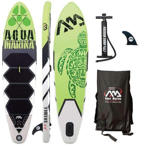 AQUA MARINA 10 Feet Inflatable Stand Up Paddle Board - OutdoorsAdventurer