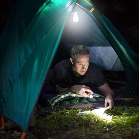 Outdoor Solar Powered Lamp - OutdoorsAdventurer