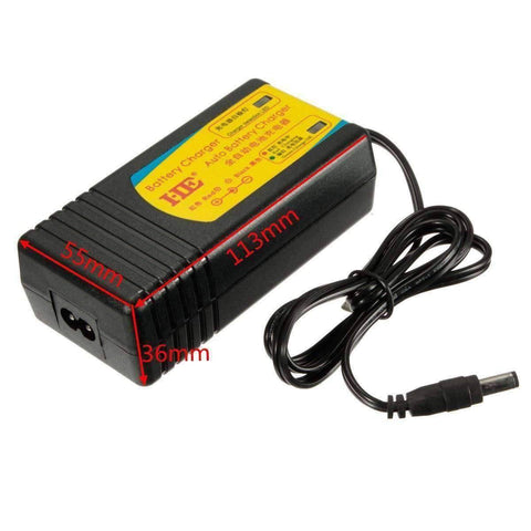 12V Car Boat Motorcycle RVs Automatic Battery Charger - OutdoorsAdventurer