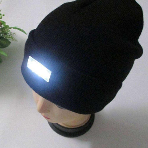 Image of Winter Hat With LED Light