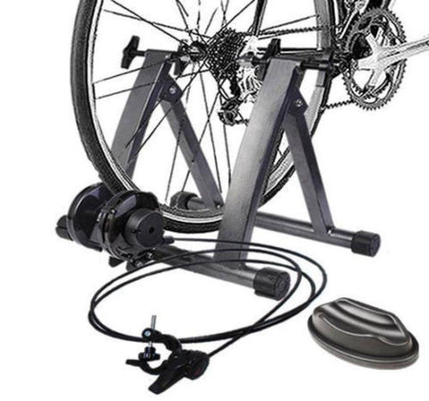 Magnetic Indoor Bike Trainer Exercise Stand With 5 levels of Resistance