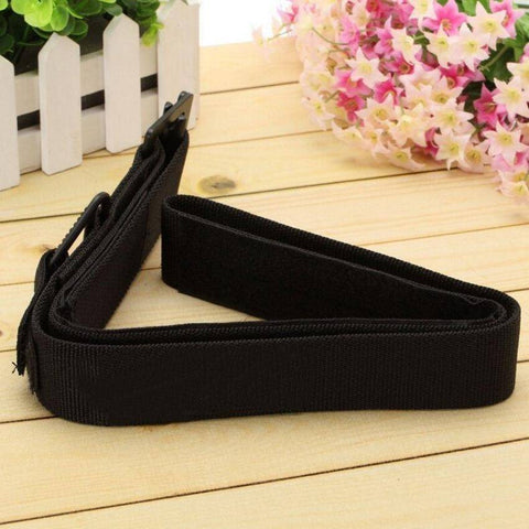 "Men's Black TDU 1.5"" Airport Friendly Belt For Survival - Size XL"
