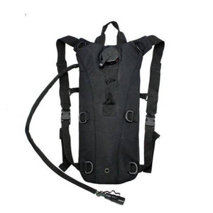 2L Hydration System Survival Bag - Black - OutdoorsAdventurer