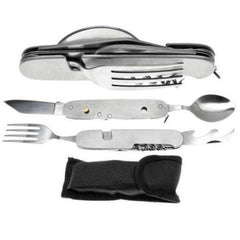 7 in 1 Camping Cutlery Set