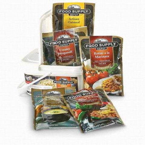 72 Hour Emergency Food Supply Bucket (1 person) - OutdoorsAdventurer