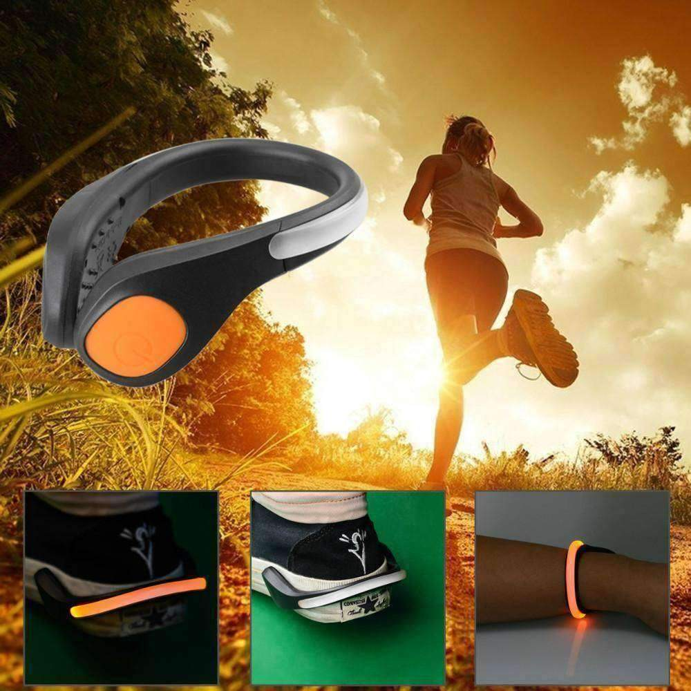LED Luminous Shoe Clip For Mountain Biking