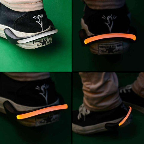 LED Luminous Shoe Clip For Cycling