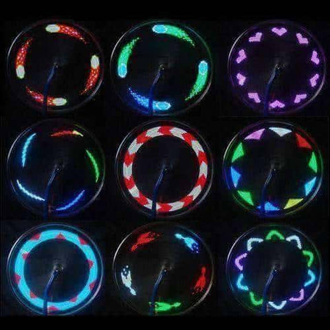 Image of LED Color Changing Bicycle Wheel Light - OutdoorsAdventurer