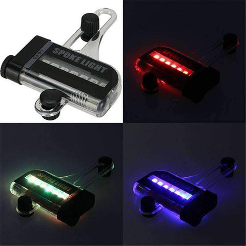 LED Color Changing Bicycle Wheel Light