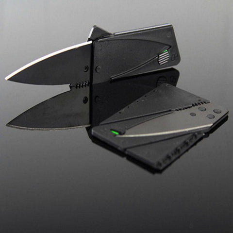 Foldaway Credit Card Knife