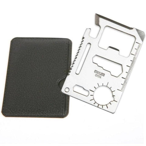 Credit Card Size 11 in 1 Multi Tool - OutdoorsAdventurer
