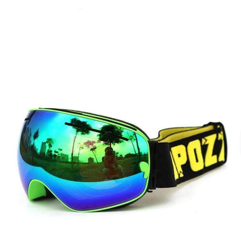 Anti-Fog Ski/Snowboarding Goggles Double UV400 Protection