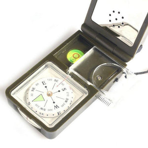 Multifunction 10 in 1 Outdoor Military Compass - OutdoorsAdventurer
