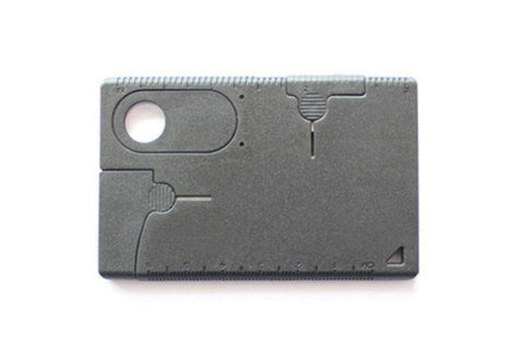 9 in 1 Multifunctional Pocket Card Tool For Survival - OutdoorsAdventurer