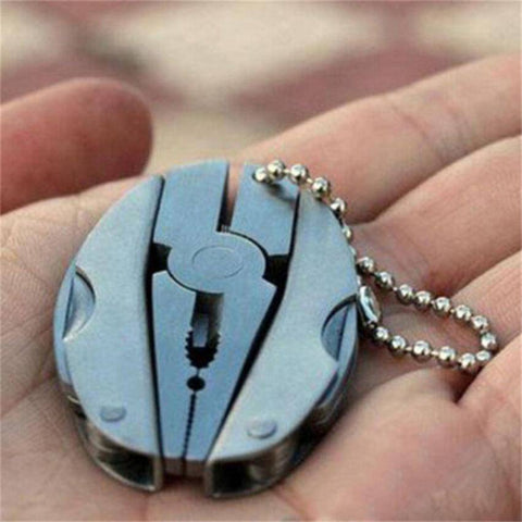 Multi Function Mini Pocket Tool Keychain Set