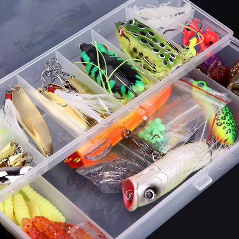 Image of 105Pcs Fishing Lure Set - OutdoorsAdventurer