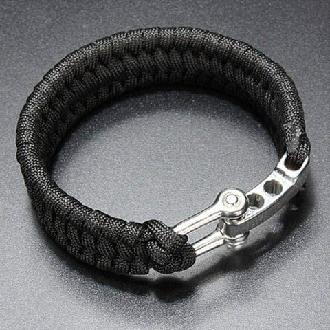 Image of ParaCord Rope Outdoor Survival Bracelet - OutdoorsAdventurer