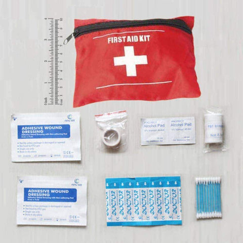 Image of First Aid Kit Emergency Medical Pack For Fishing - OutdoorsAdventurer