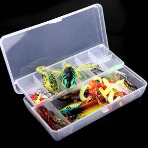 105Pcs Fishing Lure Set - OutdoorsAdventurer