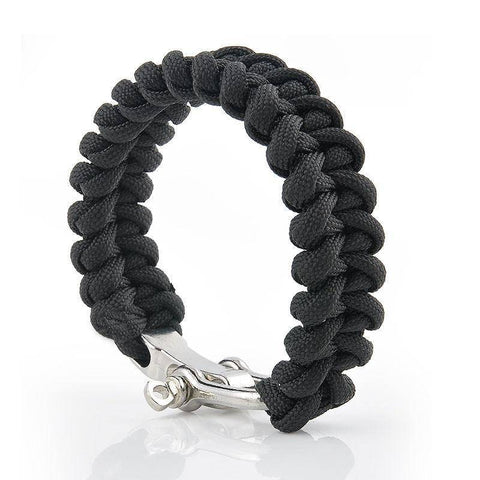 ParaCord Rope Outdoor Survival Bracelet - OutdoorsAdventurer