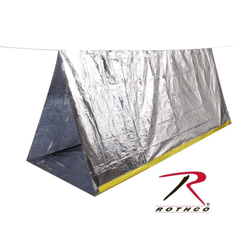 Rothco 3878 Bug Out 2 Person Lightweight Emergency Survival Tent