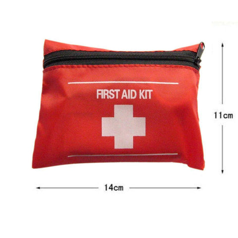 Image of First Aid Kit Emergency Medical Pack For Fishing dimensions