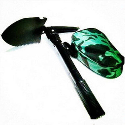 5 in 1 Folding Shovel for Camping or Survival BAG
