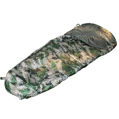 Image of Disruptive Pattern Mummy Shaped Sleeping Bag