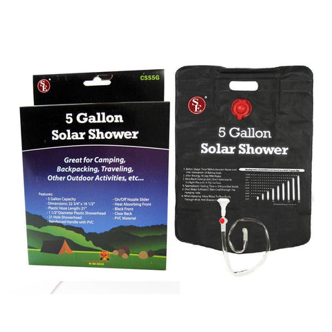 20L Solar Portable Heating Bag For Showering