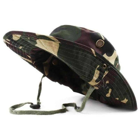 Airsoft  American Military Camouflage Hat - OutdoorsAdventurer