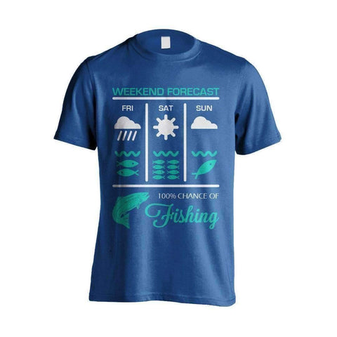 Weekend Fishing Forecast T-Shirt