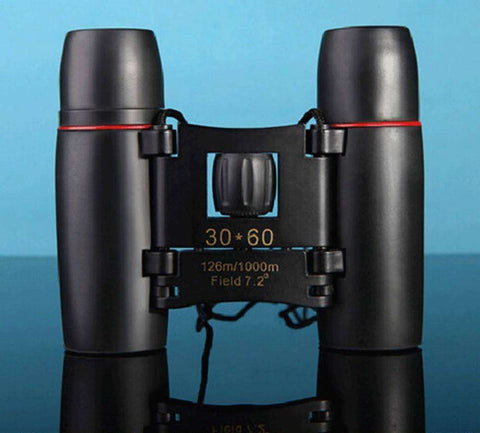 Image of Compact Folding Binoculars - 30 x 60 Zoom - OutdoorsAdventurer