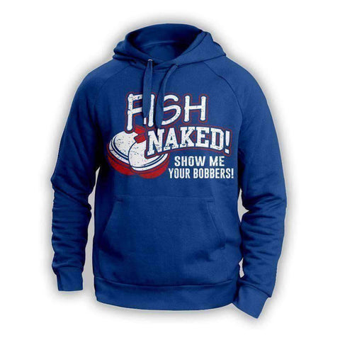 Image of Fish Naked Hoodie - OutdoorsAdventurer