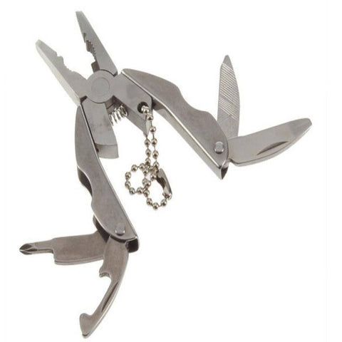 Image of Multi Function Mini Pocket Tool Keychain Set - OutdoorsAdventurer