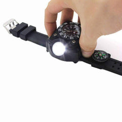 3 in1 Tactical LED Watch Flashlight