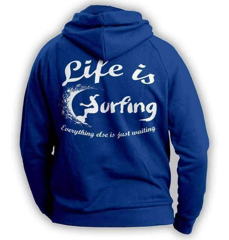 "Image of ""Life Is Surfing"" Hoodie"