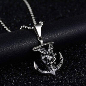 Anchor Viking Sailing Necklace - OutdoorsAdventurer