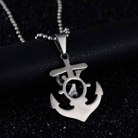 Image of Anchor Viking Sailing Necklace - OutdoorsAdventurer