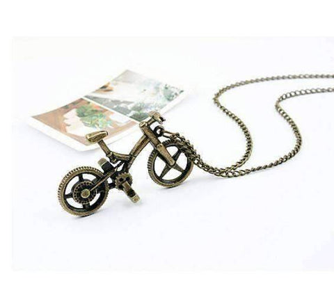 Image of Vintage Bicycle Necklace